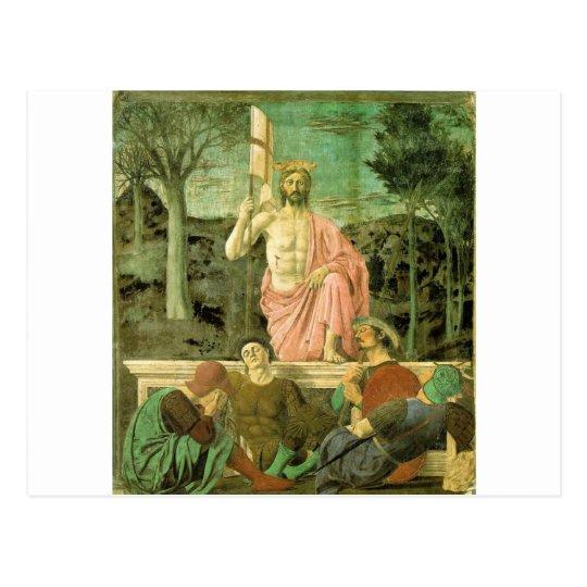 Resurrection Jesus Postcard