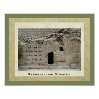 Resurrection Morning Poster