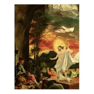 Resurrection of Christ, 1518 Postcard