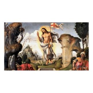 Resurrection of Christ Business Card