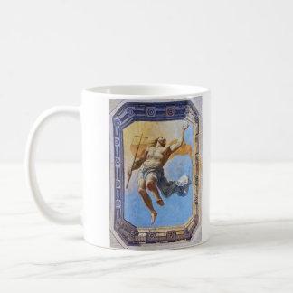 Resurrection of Christ by Michel Corneille Elder Basic White Mug