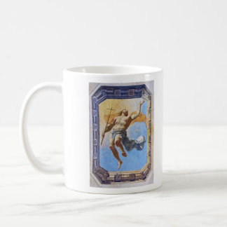 Resurrection of Christ by Michel Corneille Elder Classic White Coffee Mug