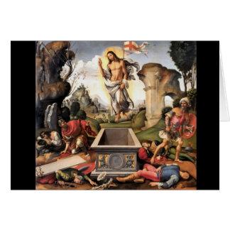 Resurrection of Christ Card