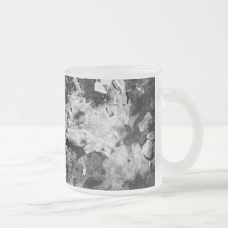 resurrection of the frozen knight frosted glass coffee mug