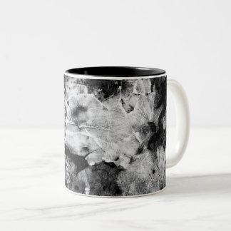 resurrection of the frozen knight Two-Tone coffee mug
