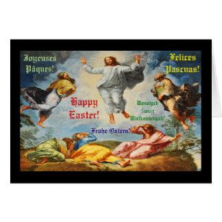 Resurrection scene in Vatican, Rome Card