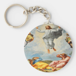 Resurrection scene in Vatican, Rome Keychain