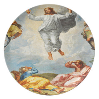 Resurrection scene in Vatican, Rome Plate