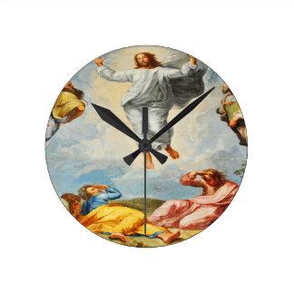 Resurrection scene in Vatican, Rome Round Clock