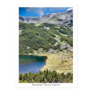 Retezat Mountains Postcard