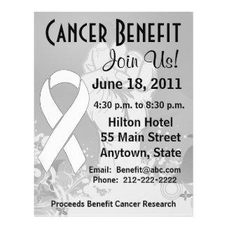 Retinoblastoma Cancer Personalized Benefit Flyer