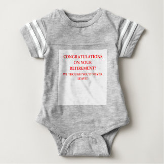 RETIRE BABY BODYSUIT