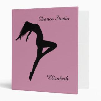 Retire Silhouette Personalized Dance Binder