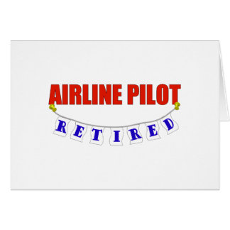 RETIRED AIRLINE PILOT CARD