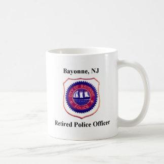 Retired Bayonne Police Officer Coffee Mug