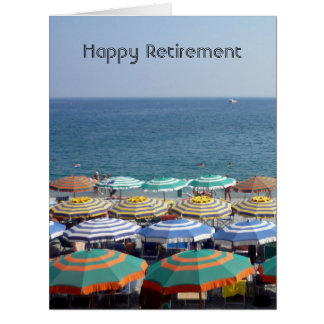 retired beach umbrellas big card