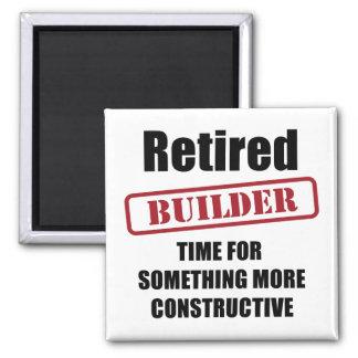 Retired Builder Magnet