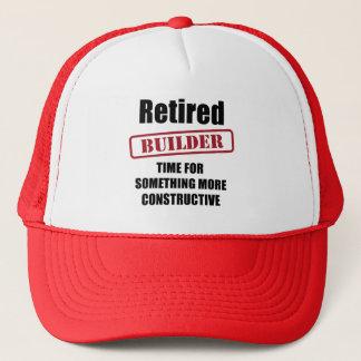 Retired Builder Trucker Hat