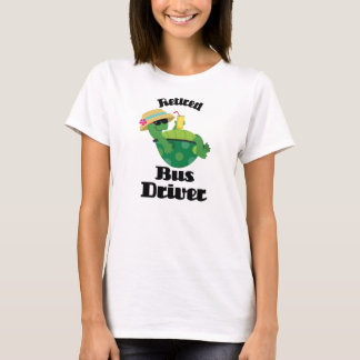 Retired Bus Driver (Turtle) T-Shirt