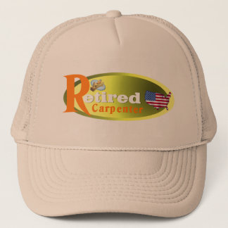 Retired Carpenter USA Trucker Hat