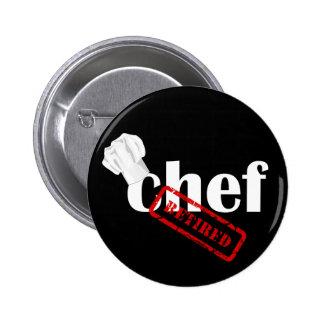 Retired Chef Hat button