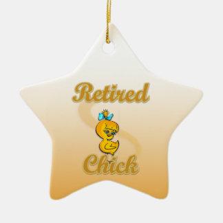 Retired Chick Ceramic Ornament