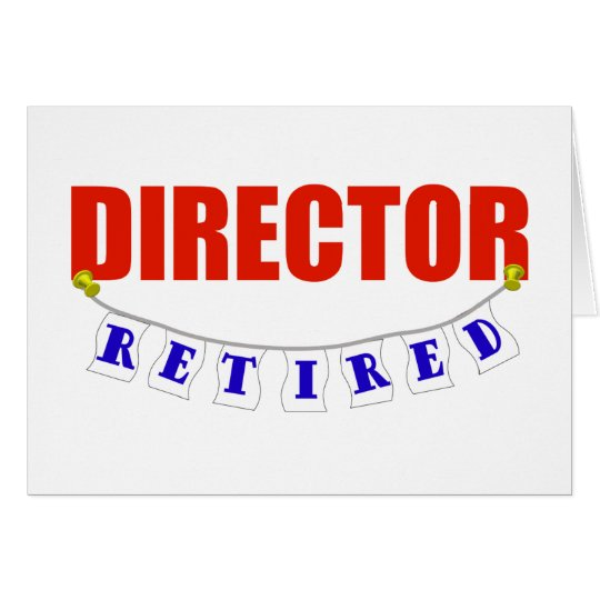 Retired Director Card