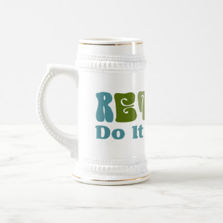 Retired Do It Yourself Beer Stein