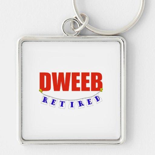 RETIRED DWEEB KEYCHAIN