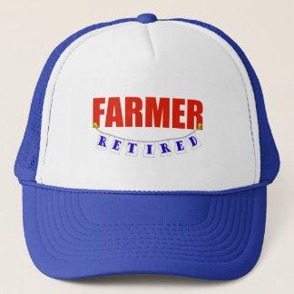 RETIRED FARMER TRUCKER HAT