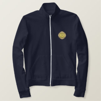 Retired Firefighter Embroidered Jackets