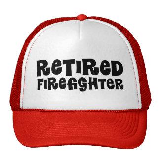 Retired Firefighter Gift Trucker Hat