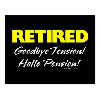 Retired: Goodbye Tension Postcard