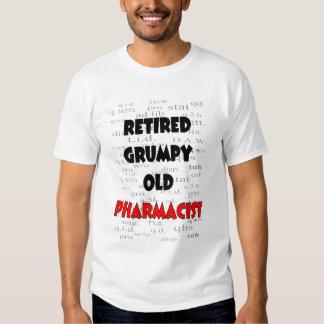Retired Grumpy Old Pharmacist T-Shirts