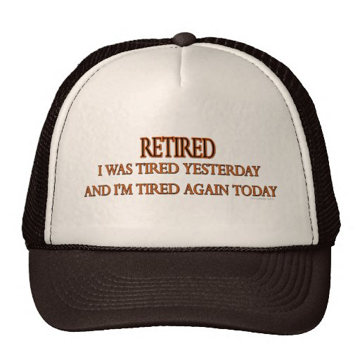 Retired Trucker Hats