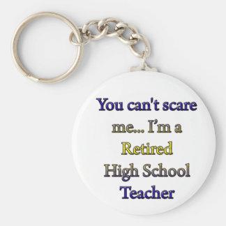 RETIRED HIGH SCHOOL TEACHER KEYCHAIN