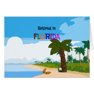 Retired in Florida Card