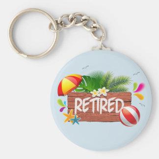 Retired Keychain