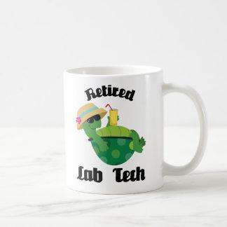 Retired Lab Tech Gift Coffee Mug