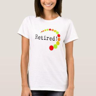 Retired Ladies T-Shirts Citrus Dots Design