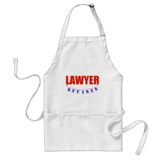 RETIRED LAWYER STANDARD APRON