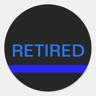 Retired LEO stickers