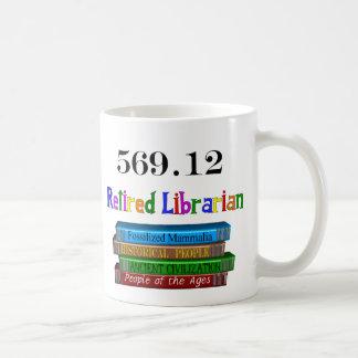 Retired Librarian 569.0 (Dewey Decimal System) Coffee Mug