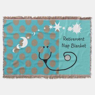Retired Medical Professional Blanket Throw Blanket