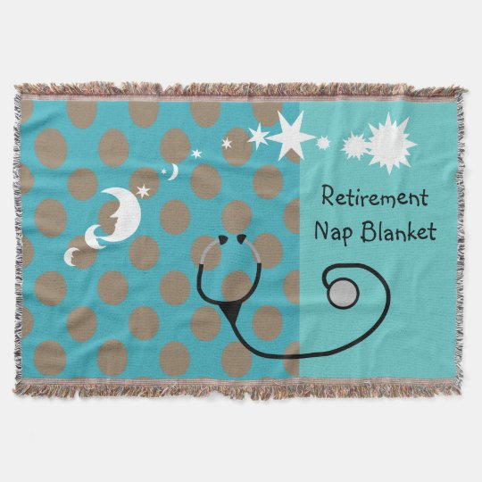 Retired Medical Professional Blanket Throw Blanket