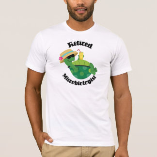 Retired Microbiologist (Turtle) T-Shirt