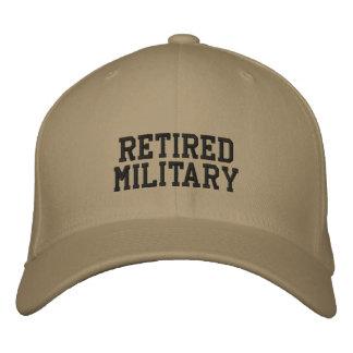 RETIRED MILITARY BASEBALL CAP