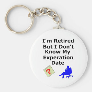 Retired No Experation Date Keychain
