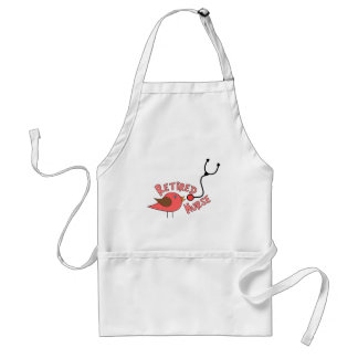 Retired Nurse Gifts Standard Apron