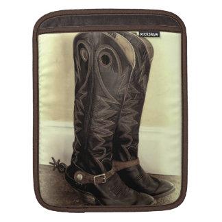 Retired Old Boots iPad Sleeve